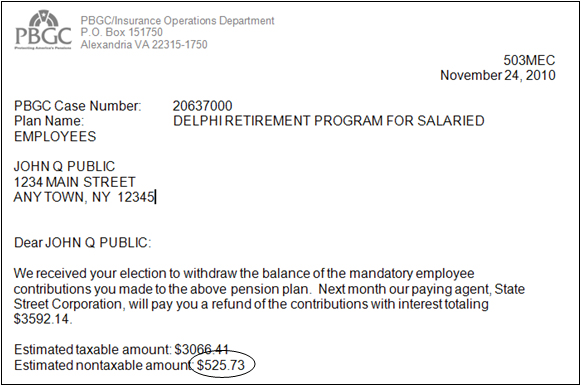 Important Tax Information For Participants In Delphis Salaried