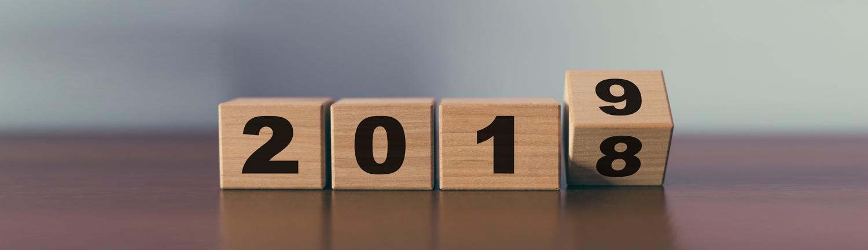 2018 turning to 2019
