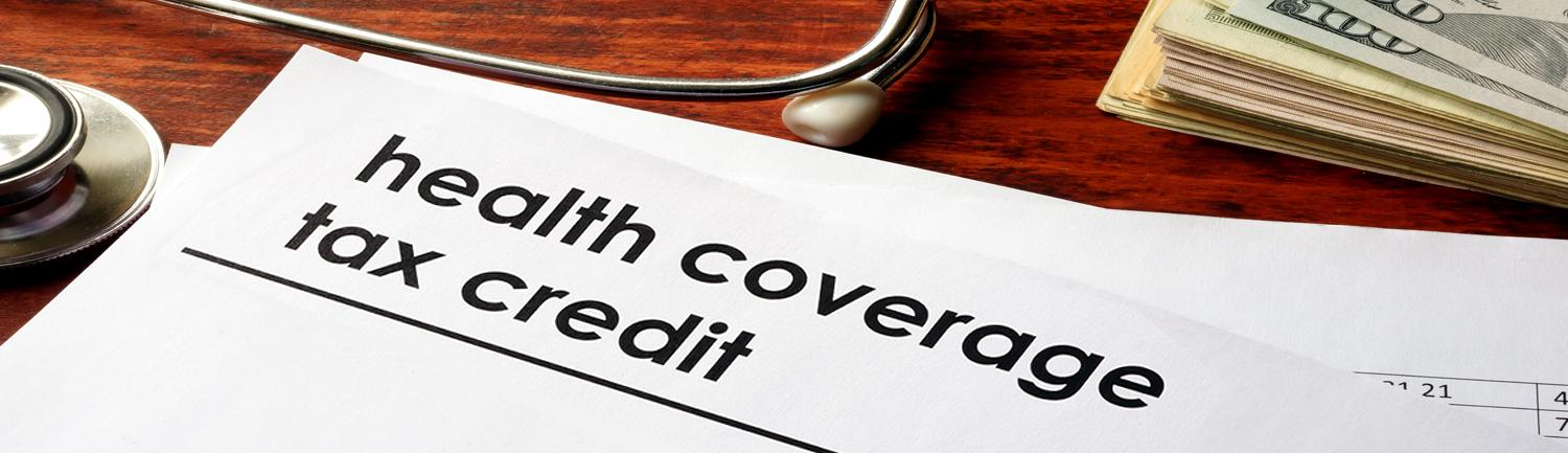 Health Coverage Tax Credit on paper